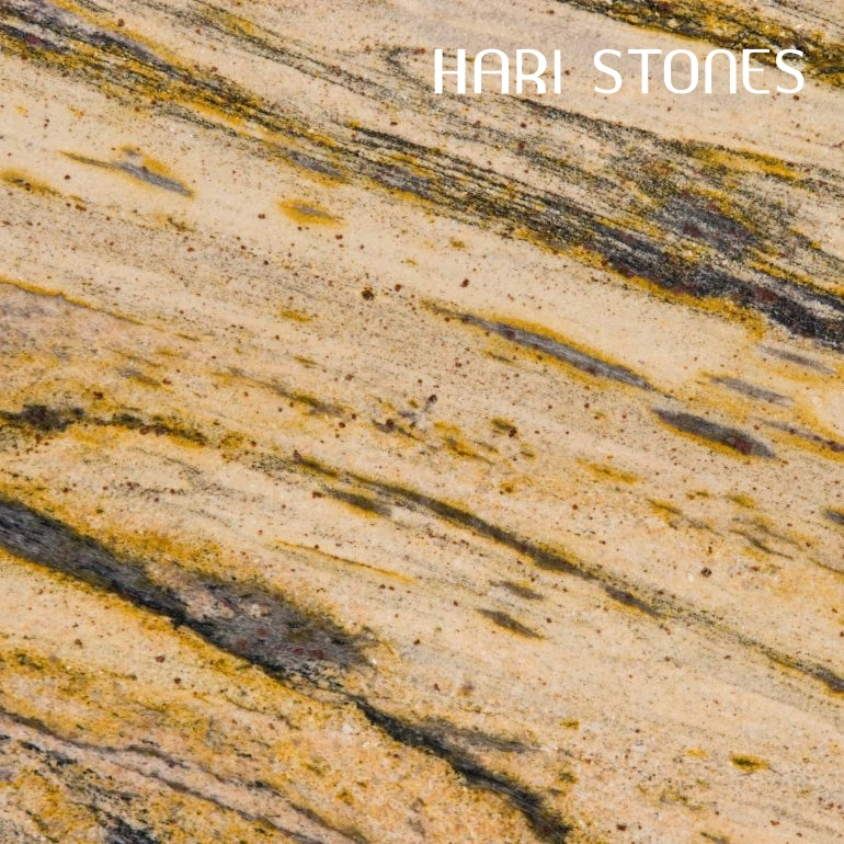 Lemon Spice Granite Slabs