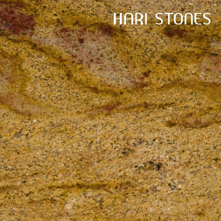 Yellow Fantasy Granite Slabs