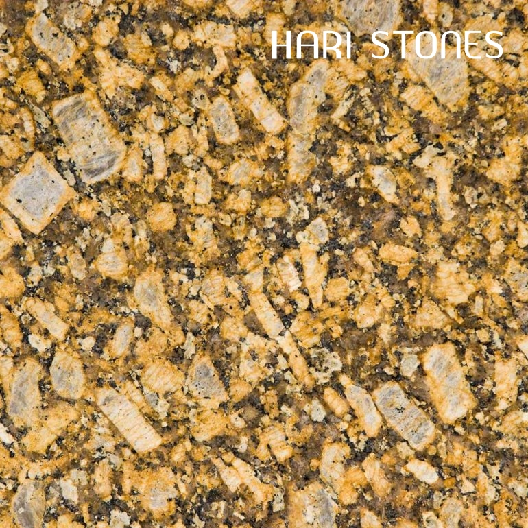 Giallo Fiorito Granite Slabs Distributors