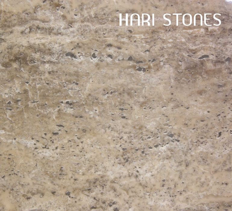 Travertine Silver Polished Slab Supplier