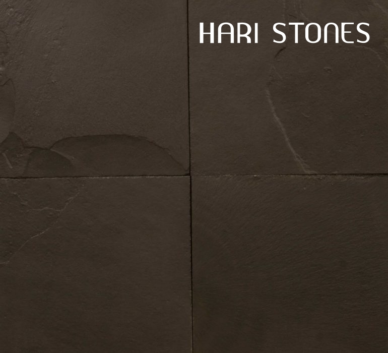 China Black Slate Tiles Distributor