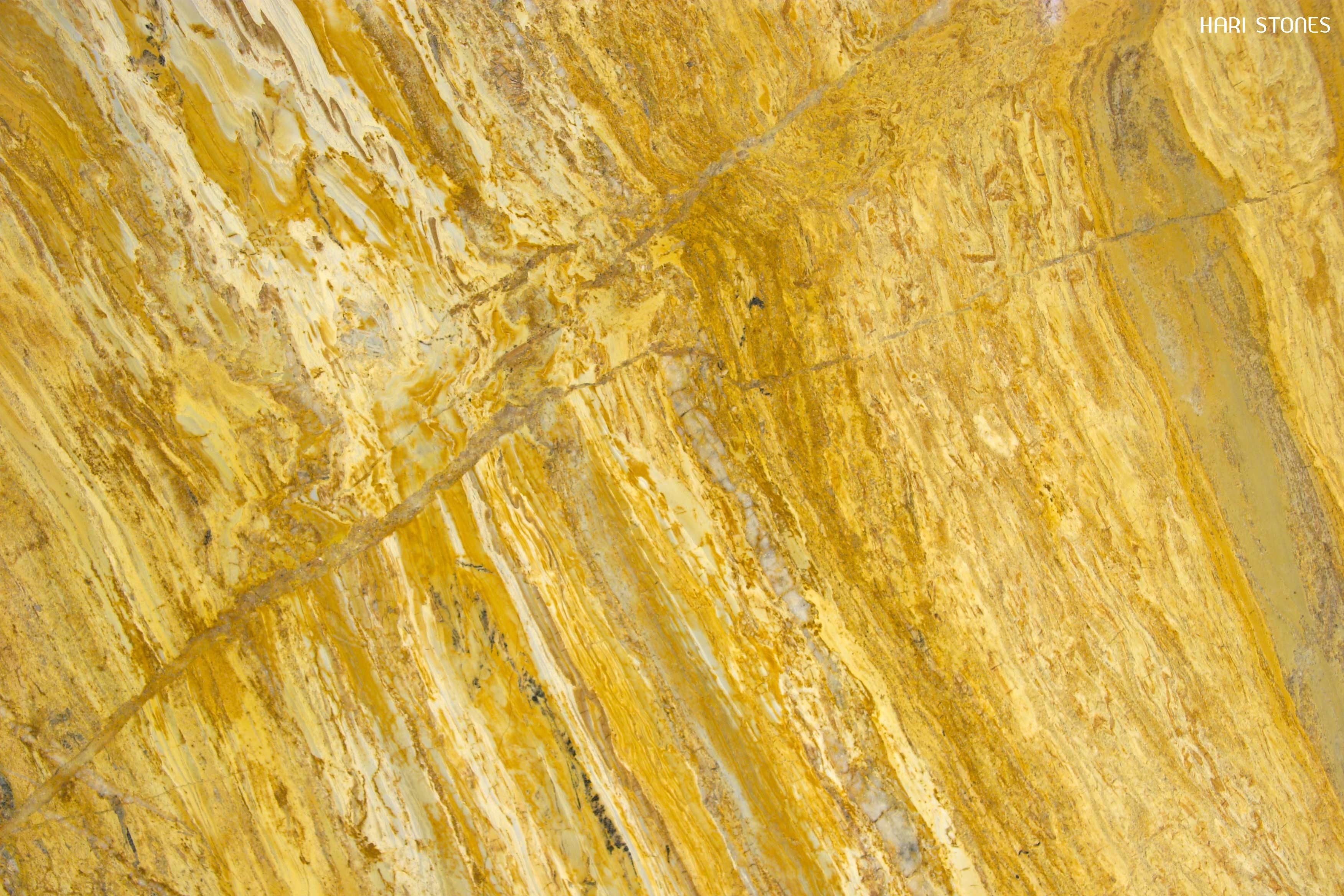 Yellow Bamboo Granite Slabs