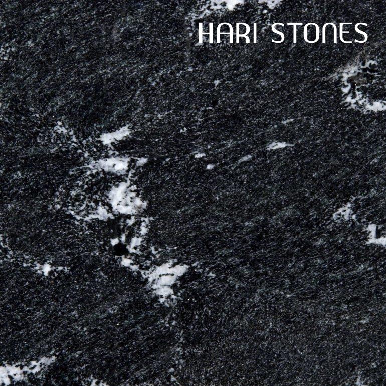 Black Via Lactea Granite Slabs Distributors