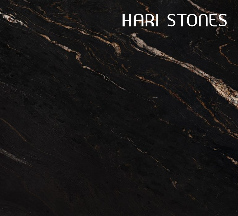 Black Cosmic Leather Granite Slabs Suppliers