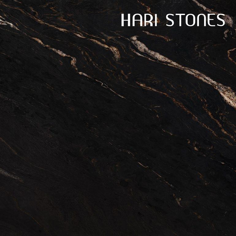 Black Cosmic Leather Granite Slabs Suppliers