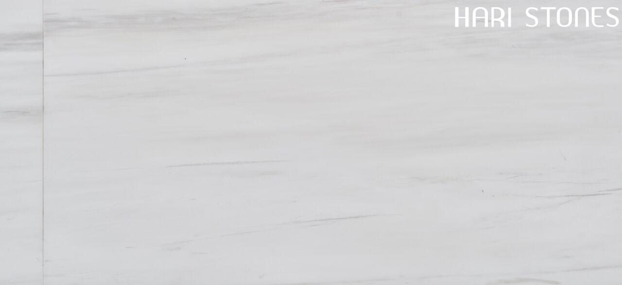 Dolomite White Honed Marble Tiles