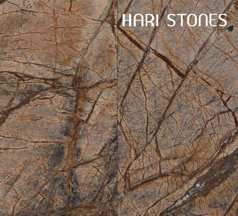 Marble Rain Forest Brown Tiles