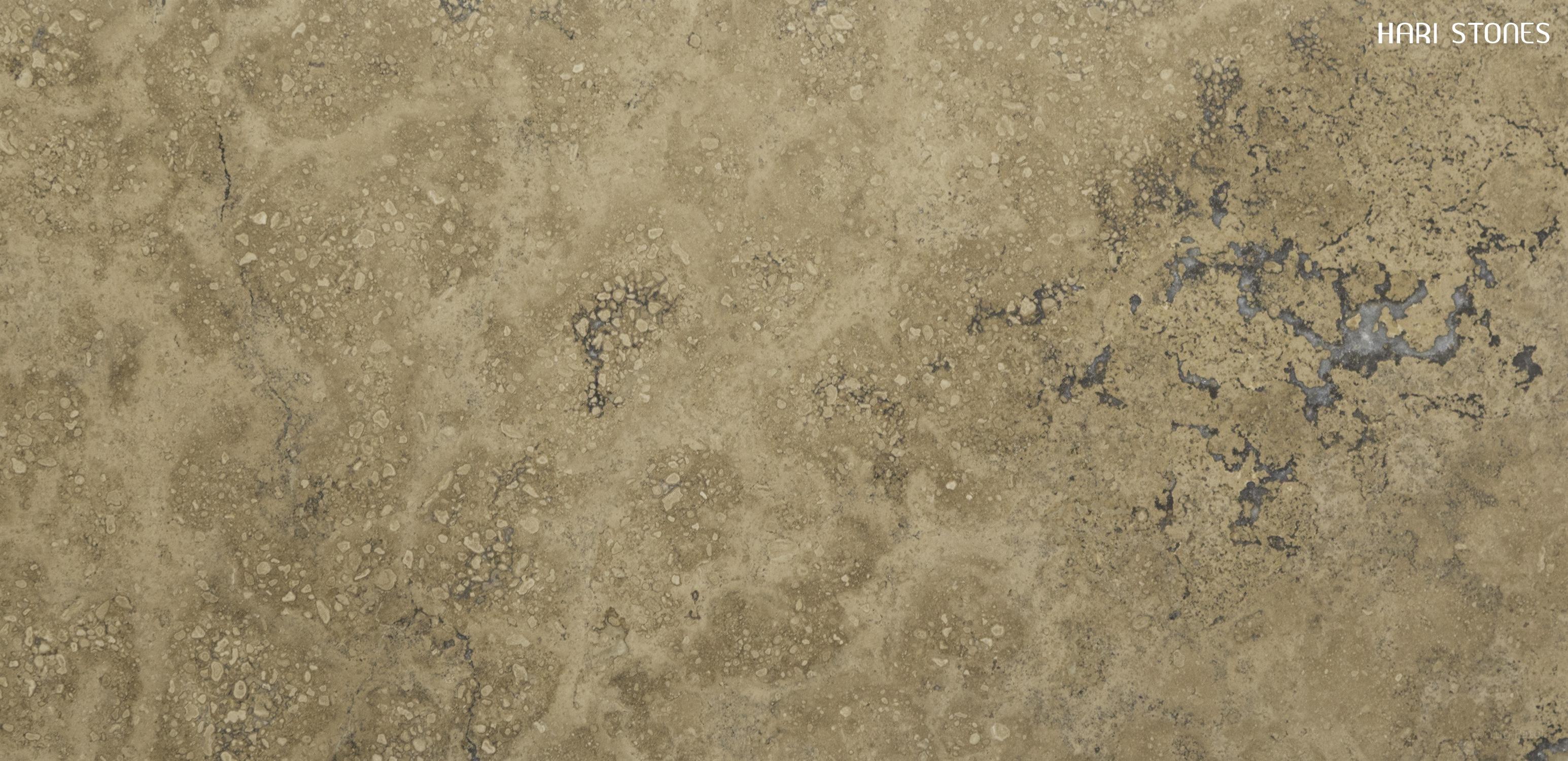 Andino Dark Mate Travertine Tiles