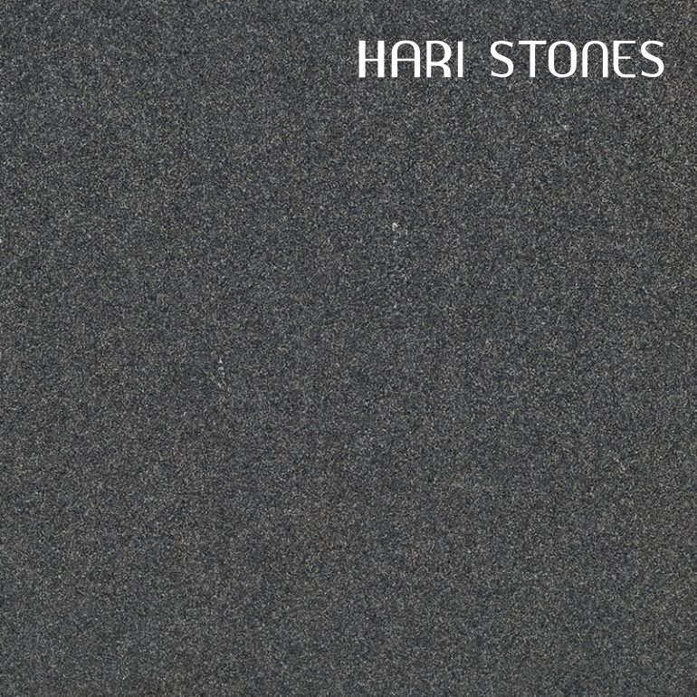 Absolute Black Flamed Granite Tiles