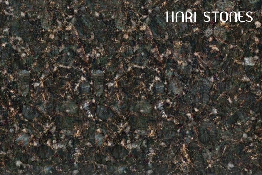 Granite Verde Butterfly Tiles