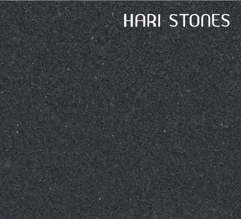 New Cambrian Black Brushed Granite Slabs Suppliers