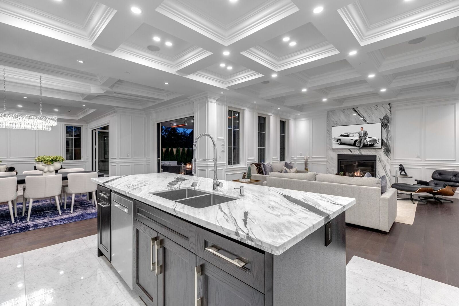 New York Marble Kitchen