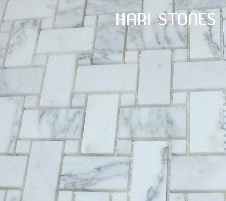 Mosaic Marble Statuario SD7 Distributor
