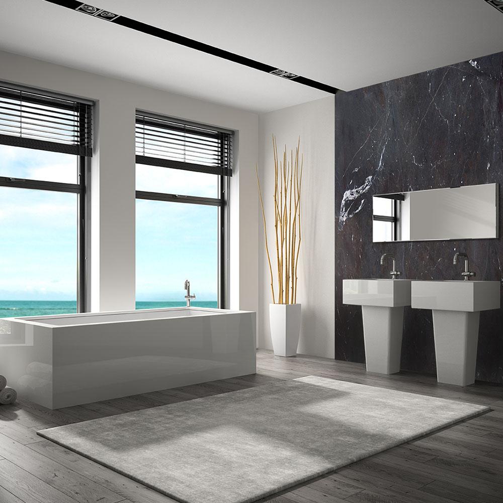 Amarula Banheiro Granite Wall