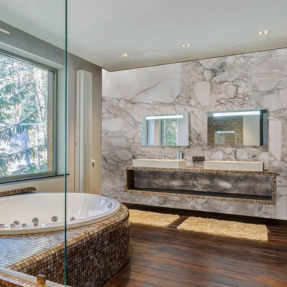 Granite Cocada White Wall