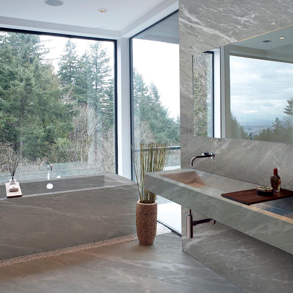 Satinato Marble Bathroom