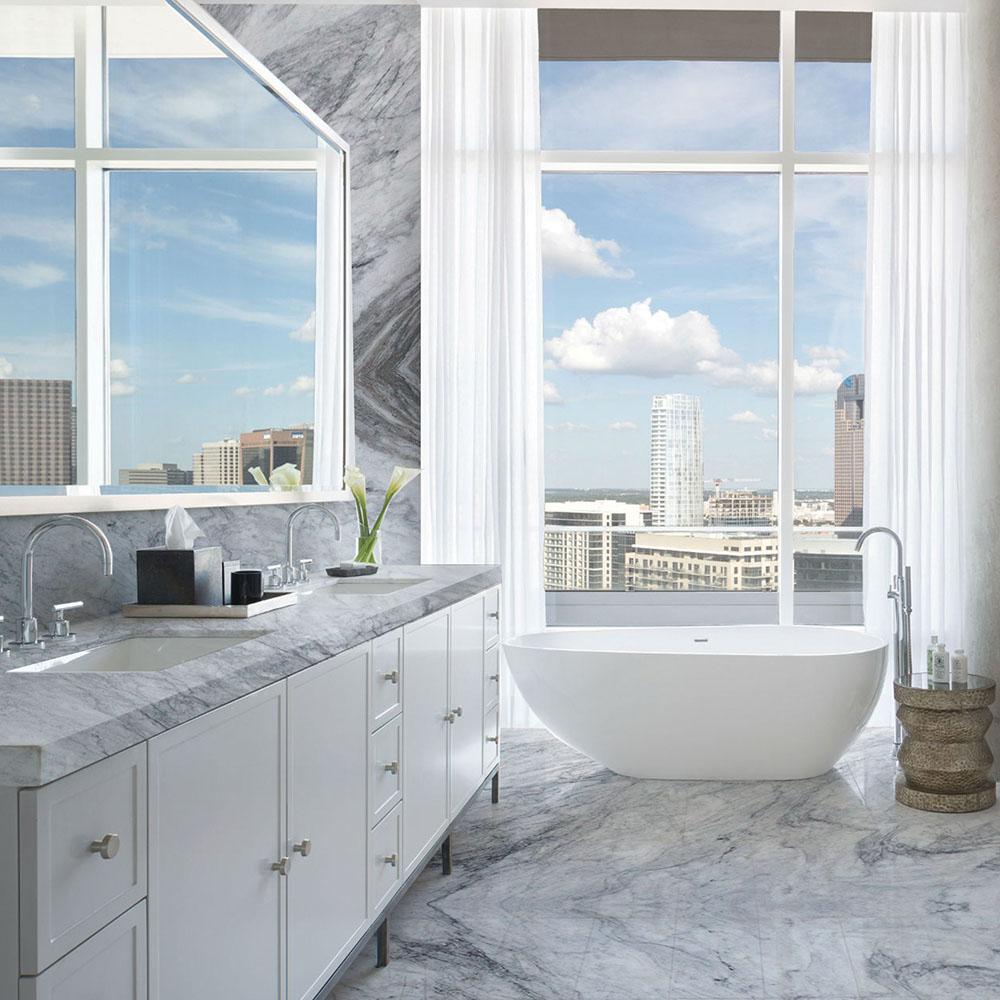 Shadow Storm Marble Bathroom