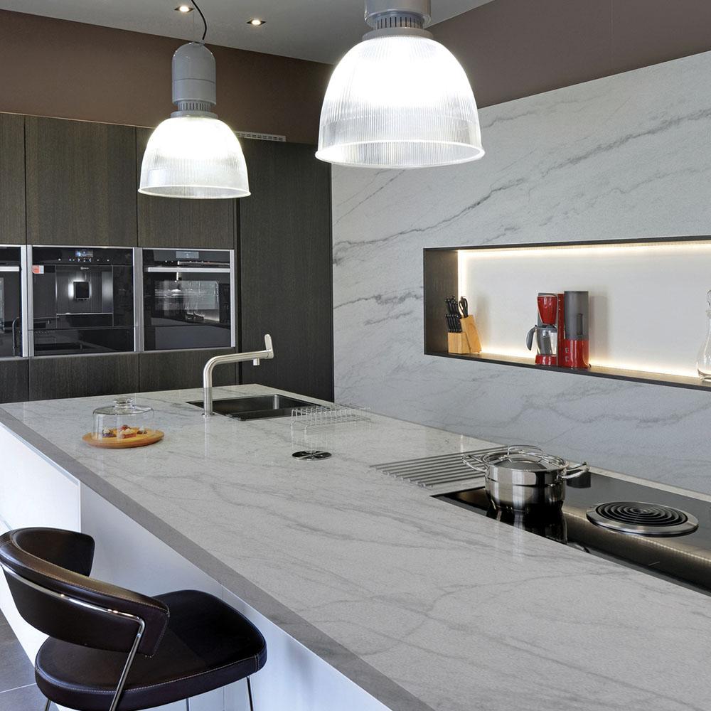 Calacatta Quartz Kitchen