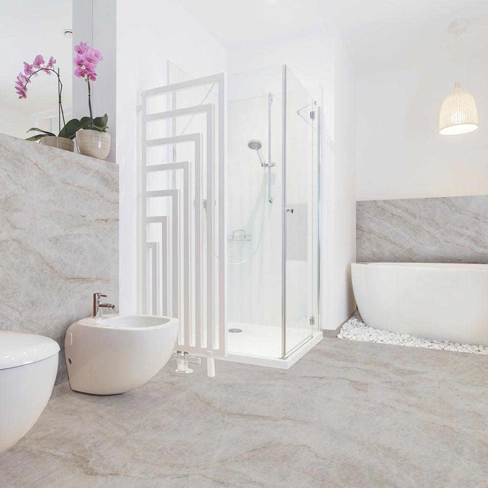 Taj Mahal Quartzite Bathroom