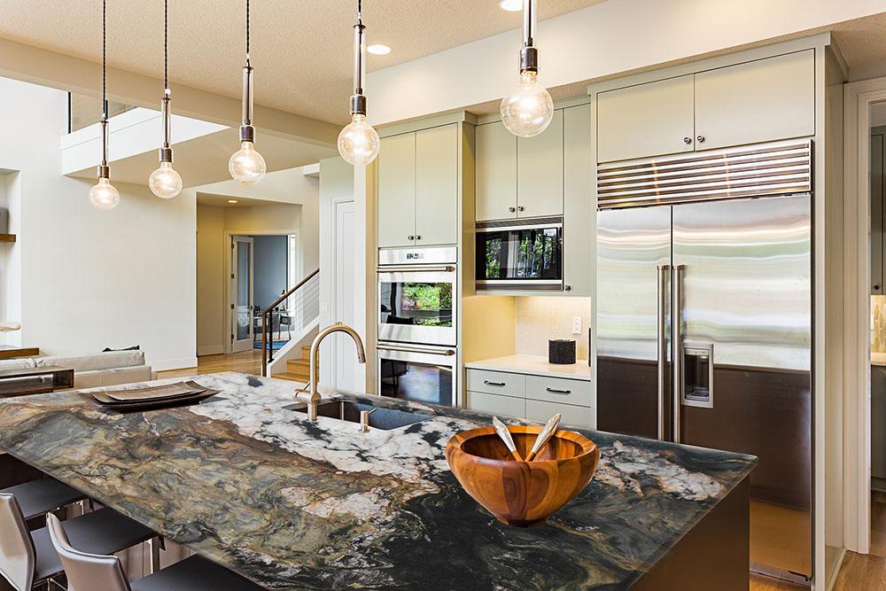 Cozinha Fusion Quartzite Countertop