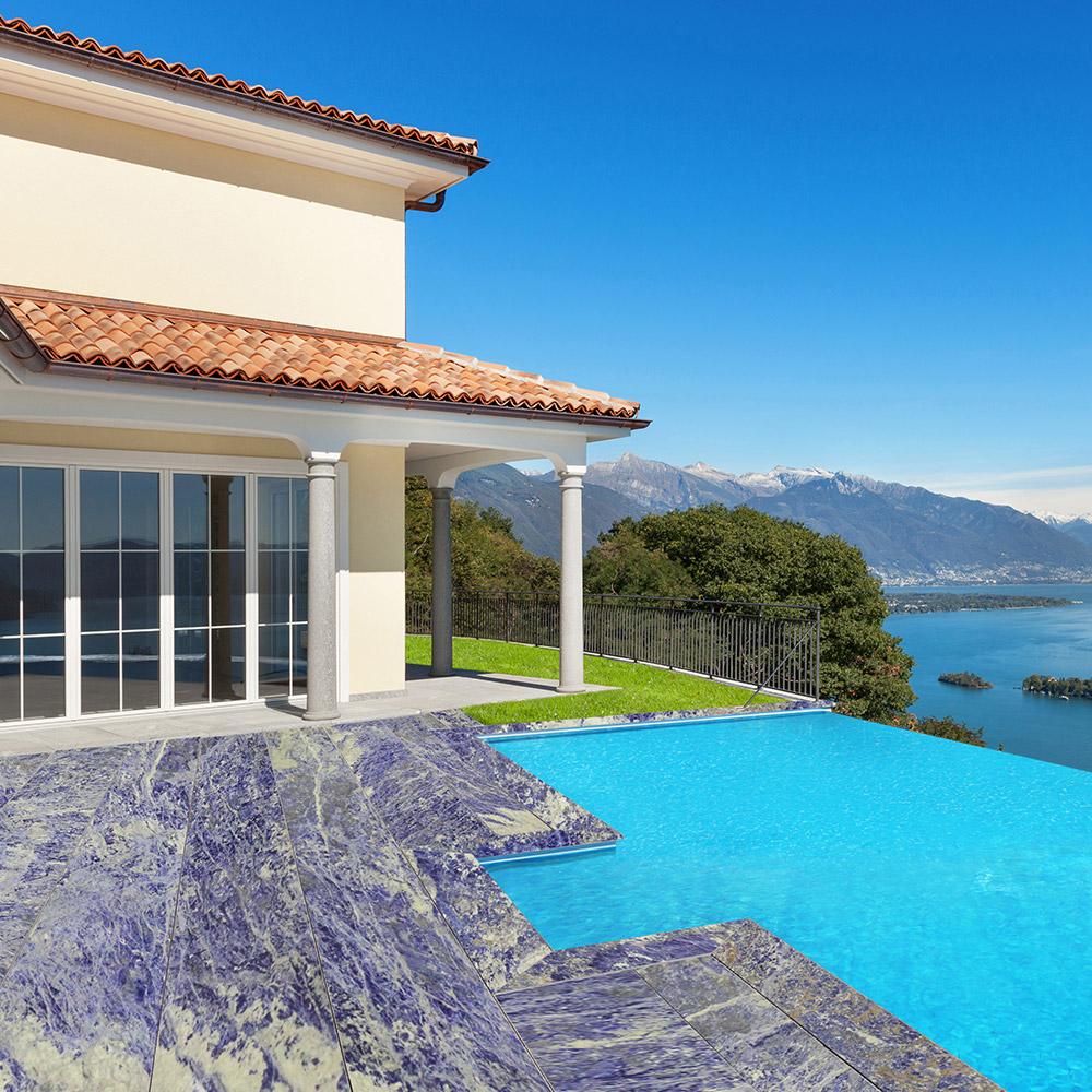 Sodalita Granite Pool