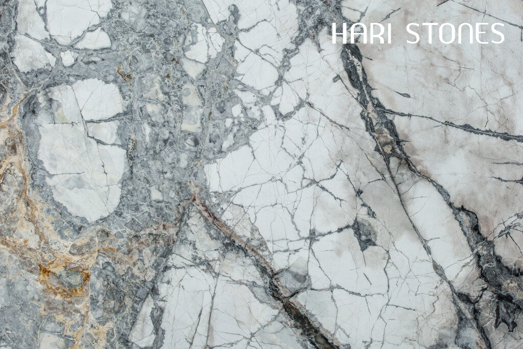 Invisible Grey Azerocare Marble Slabs Distributors