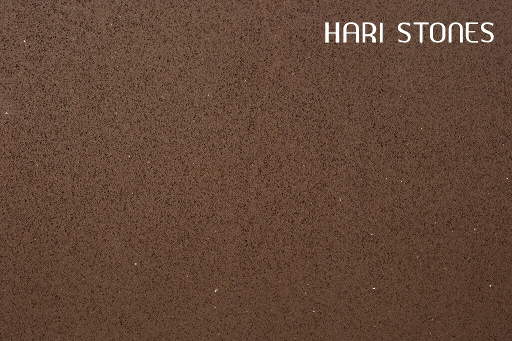 Irah 103 Glass Brown Quartz Slabs Suppliers