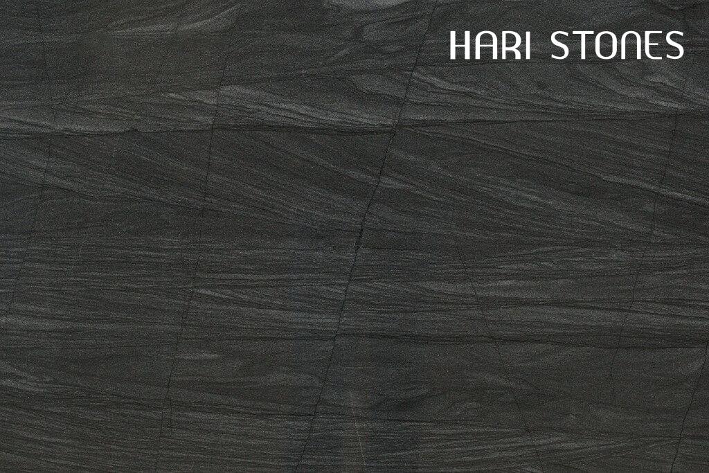 Quartzite Brilliant Black Diamante Nero Slabs