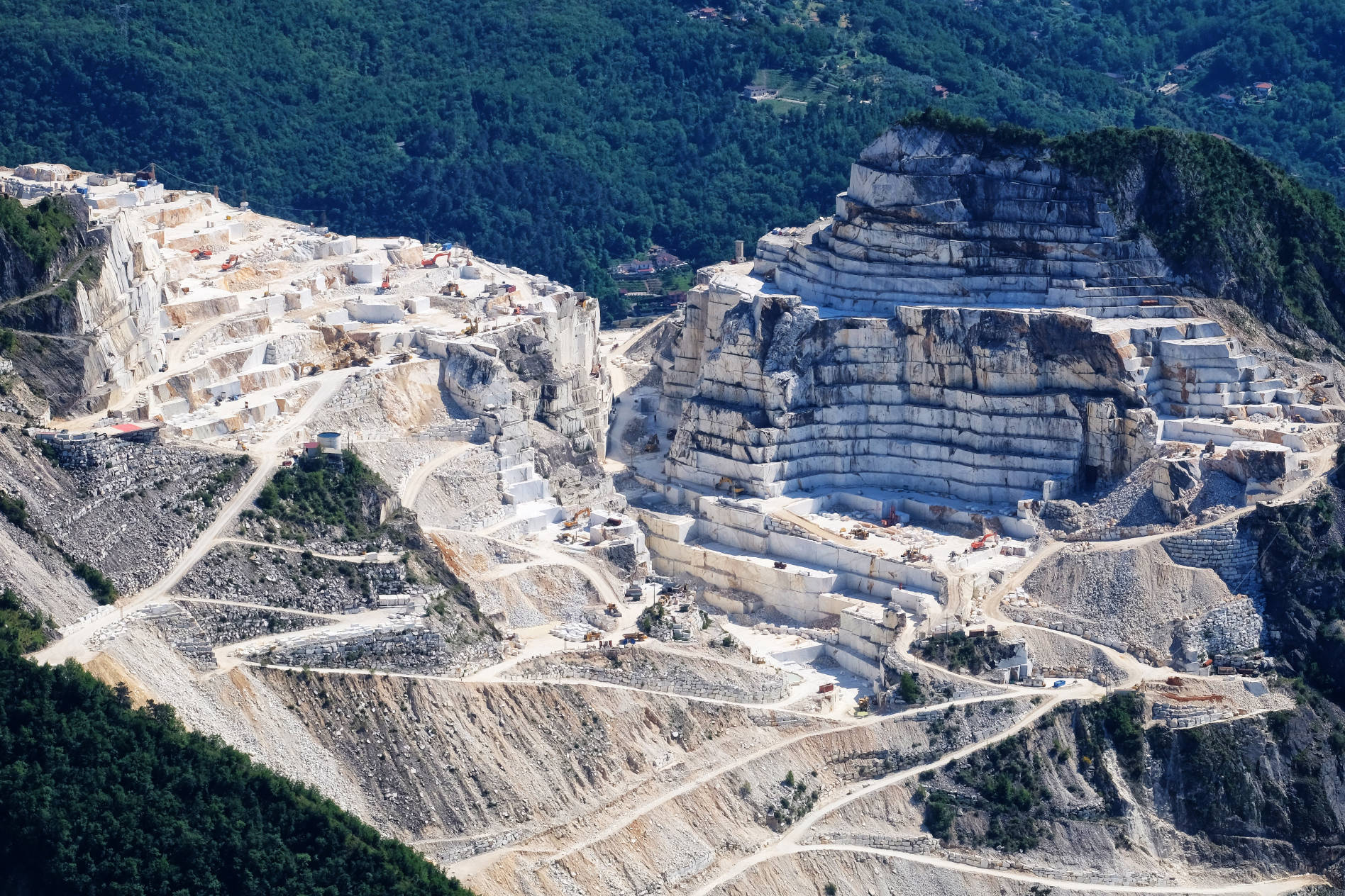 Marble Quarry in Tuscany