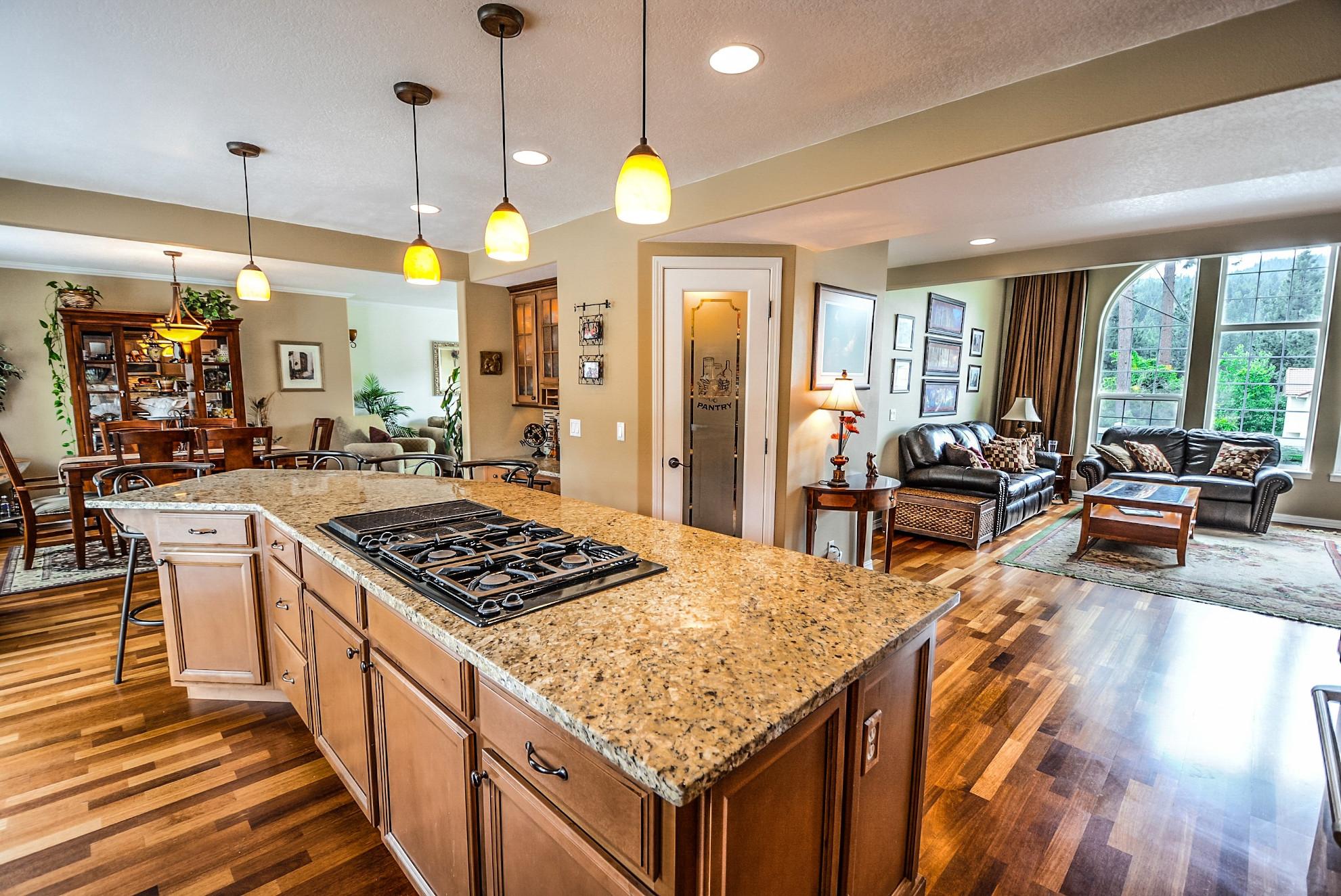 Granite on a Kitchen Countertop