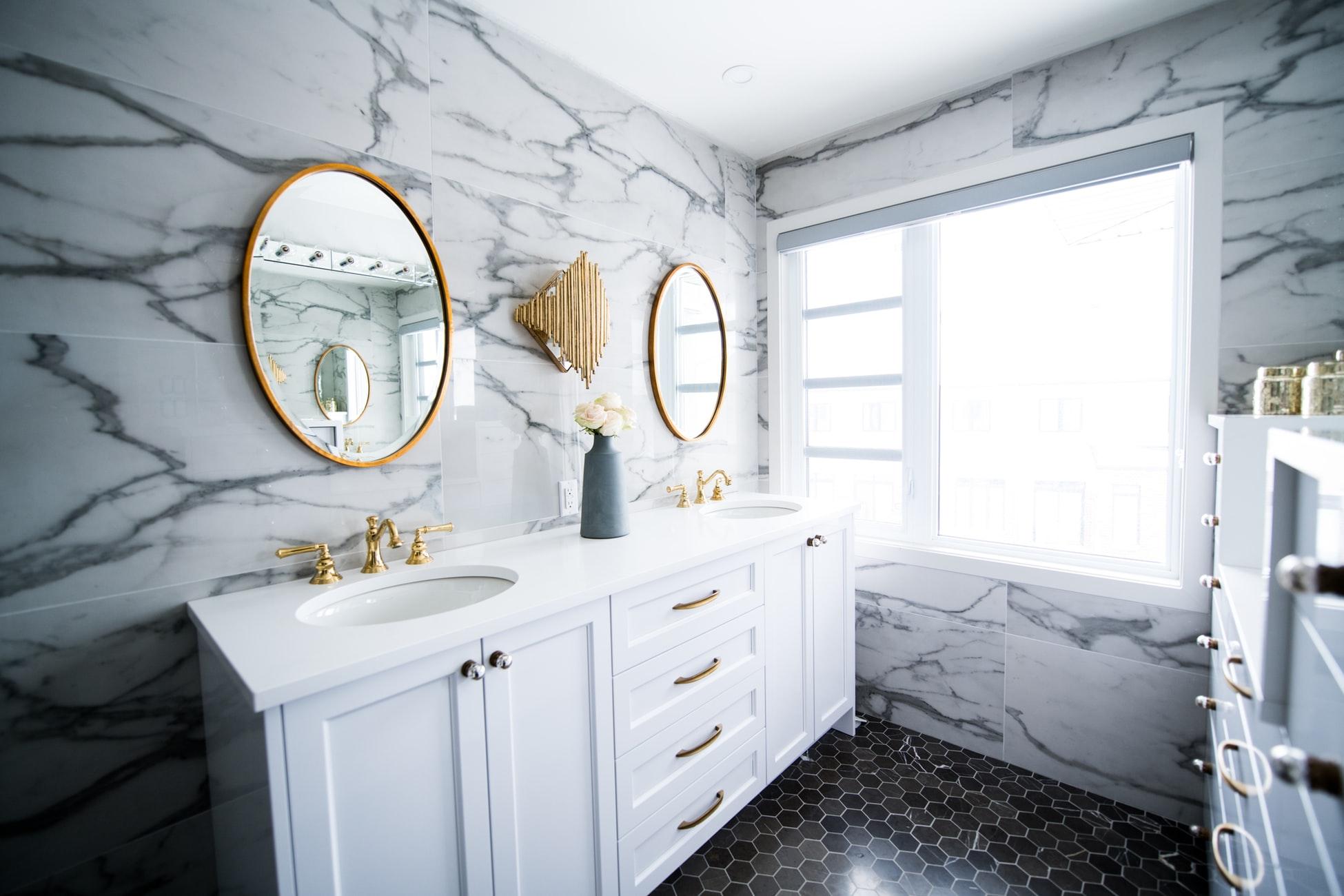 Porcelain in Bathroom